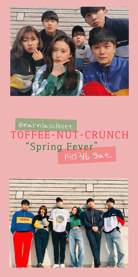 "[ToffeenutCrunch 2nd Concert] ""SPRING FEVER"""